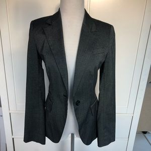 Zara-grey pant suit and blazer